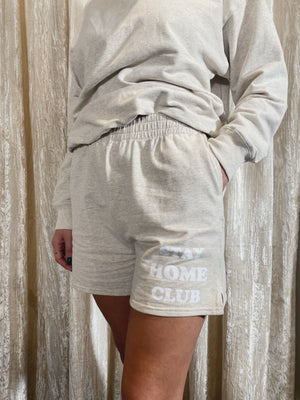 Stay Home Club Sweat Shorts