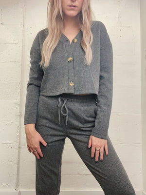 Brooklyn Button Cardi
