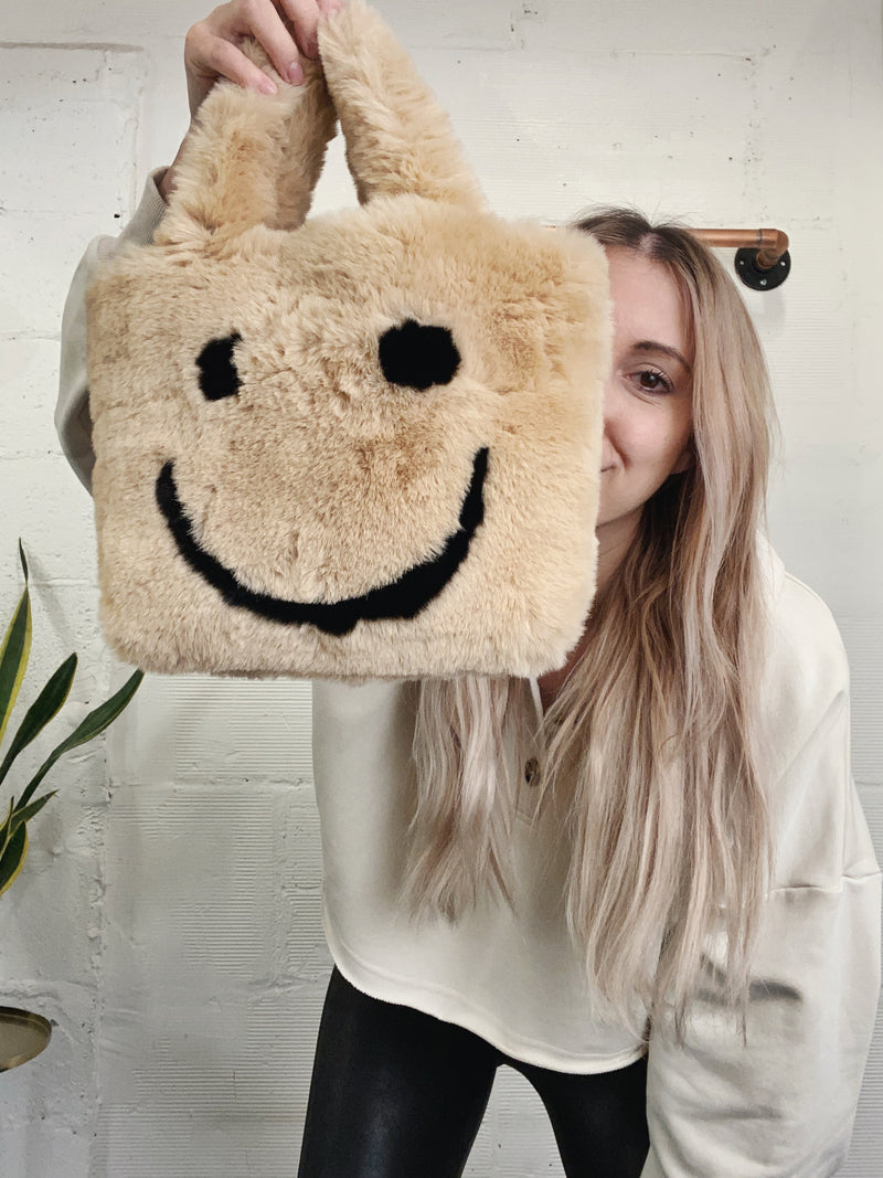 All Smiles Bag - Tan
