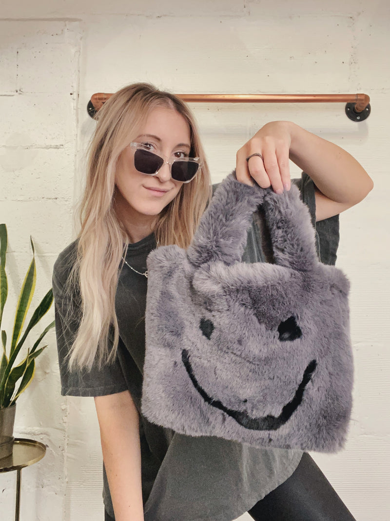 All Smiles Bag - Grey
