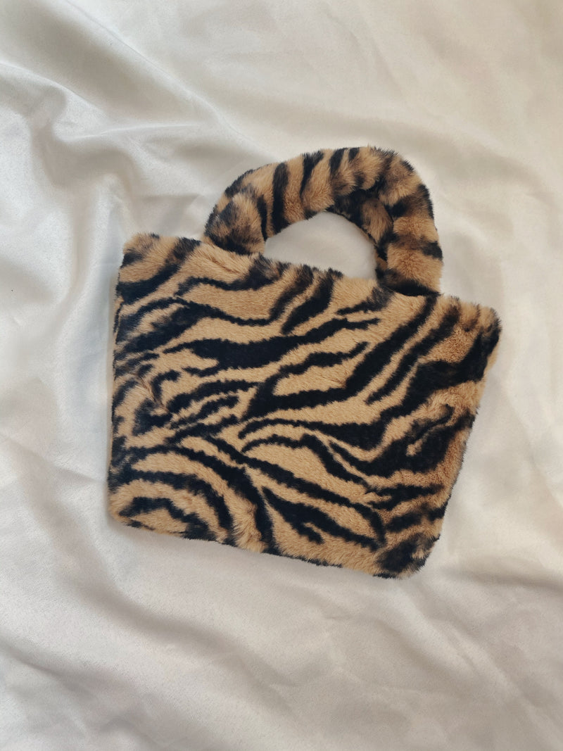 Plush Tiger Bag