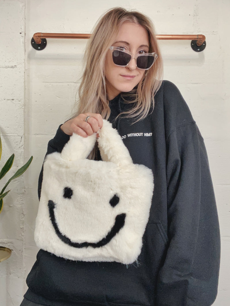 All Smiles Bag - White