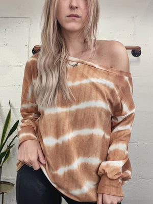 Slouchy Tie Dye Pullover