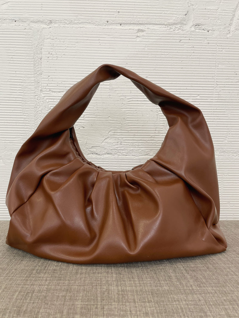 Adelie Shoulder Bag - Coffee