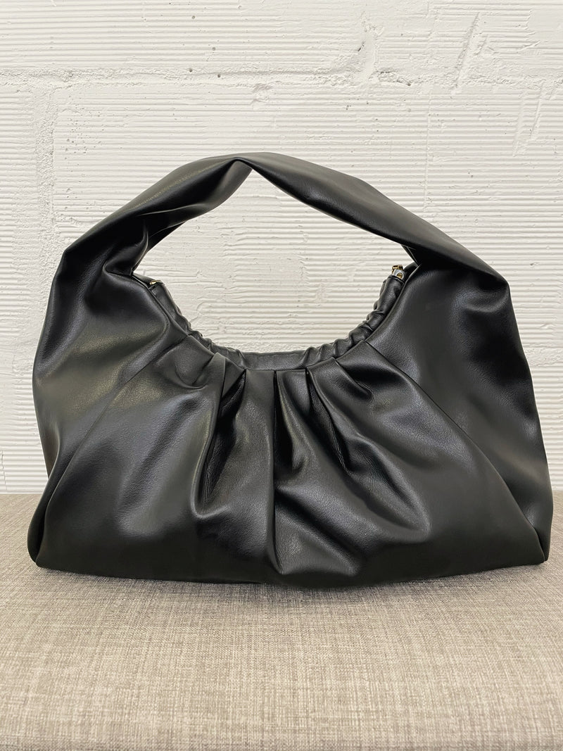 Adelie Shoulder Bag - Black