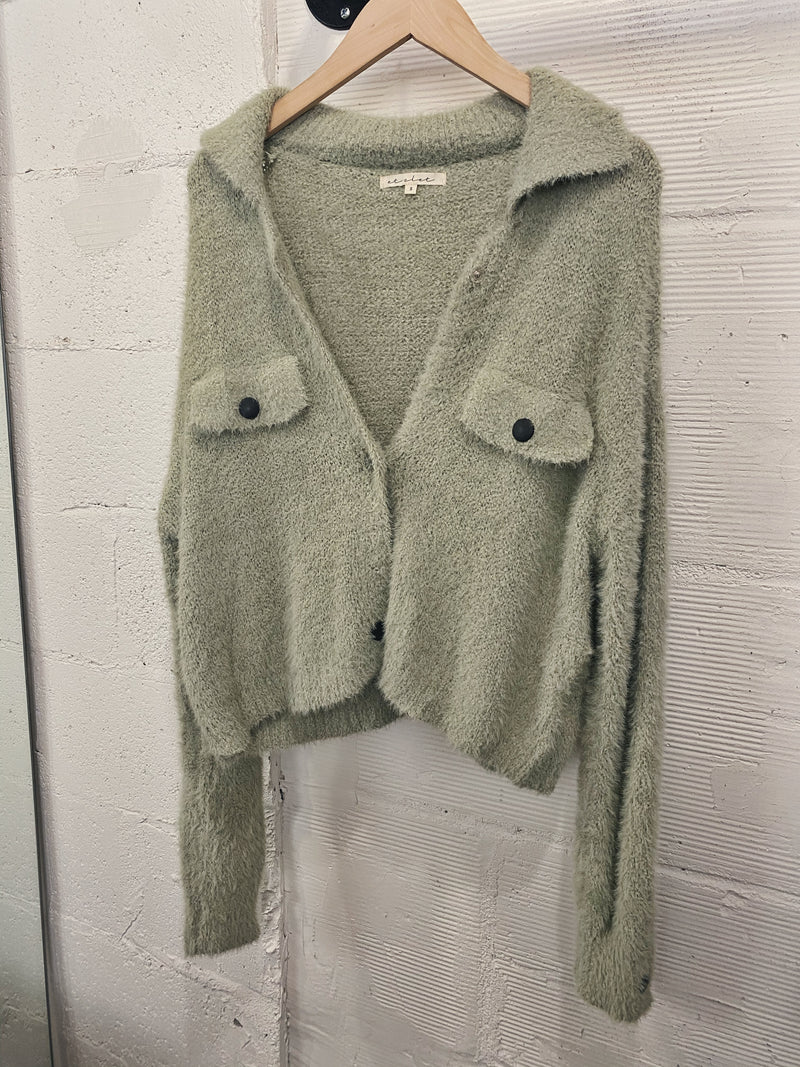 Leland Sweater - Sage