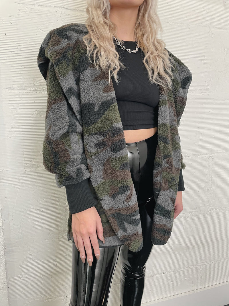 Faux Real Jacket - Camo