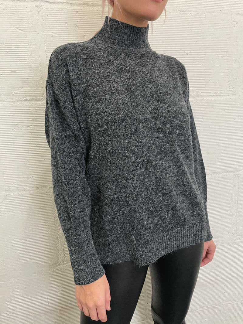 Every Plan Mockneck Sweater