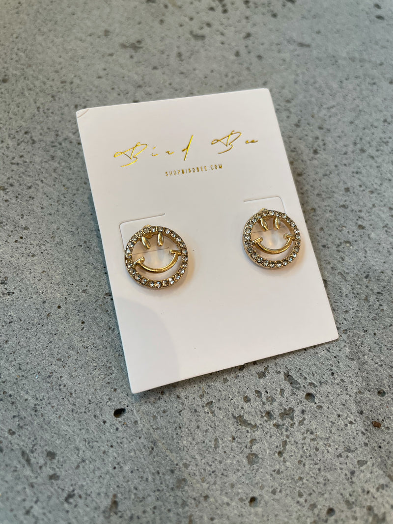 All Smiles Crystal Studs