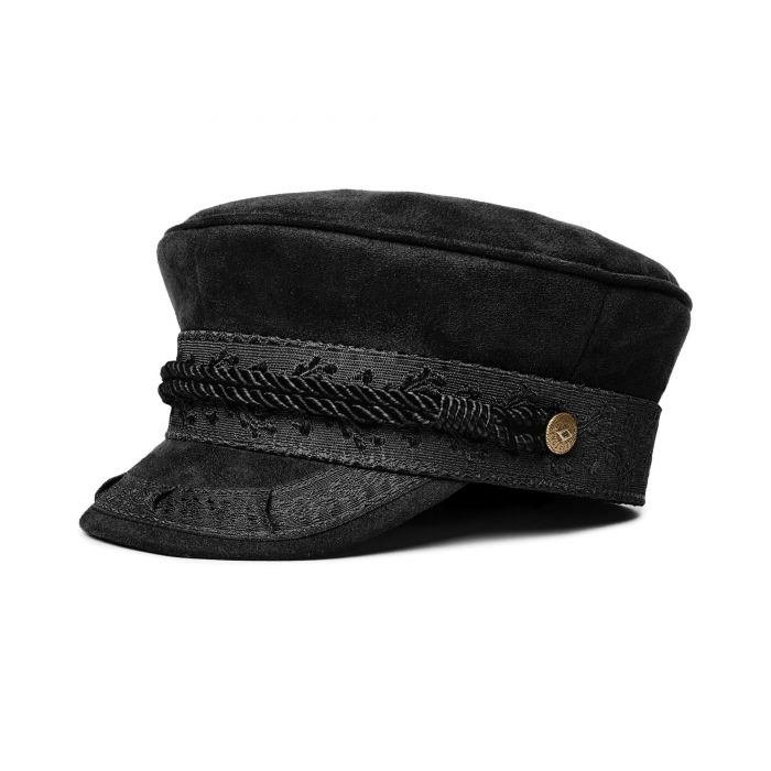 Albany Cap Faux Suede