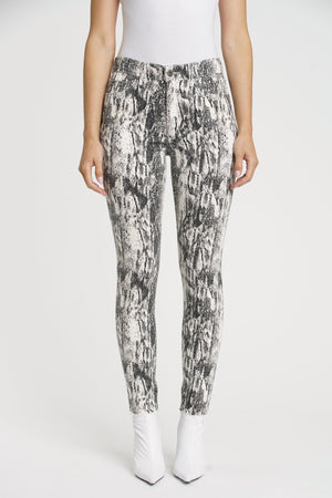 Aline High Rise Skinny-Winter Snake
