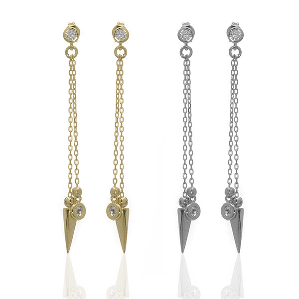 Arrow Chain Earrings