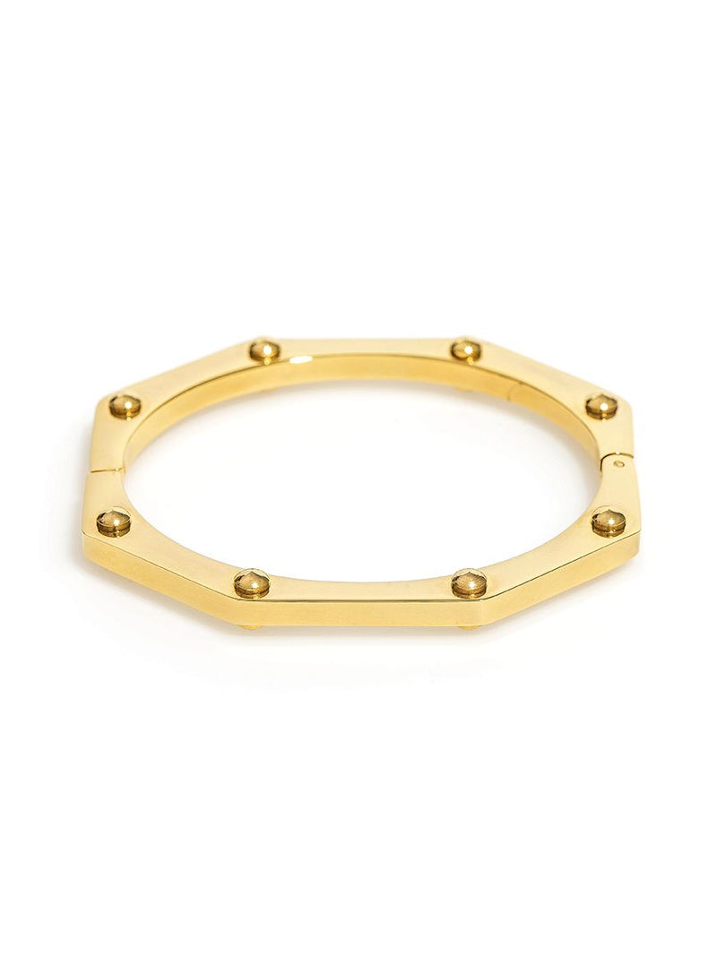 Hexagon Construction Bangle