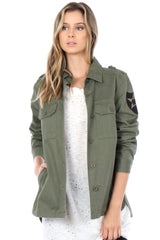 Gina Military Jacket - BIRD BEE - 3
