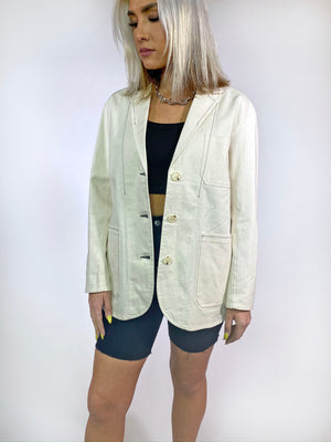The Wesley Denim Blazer