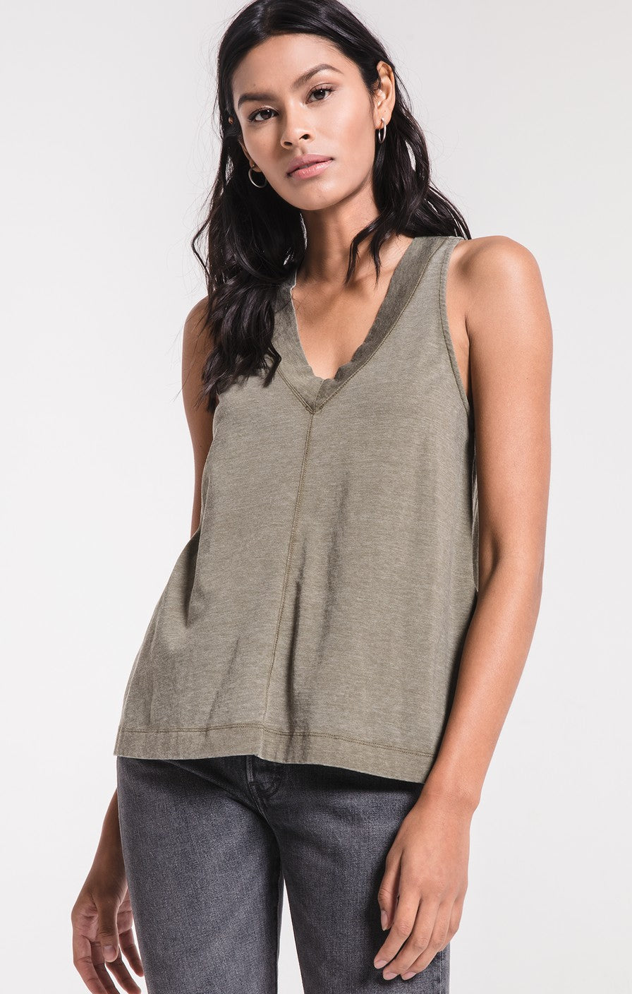 The City Racerback Tank