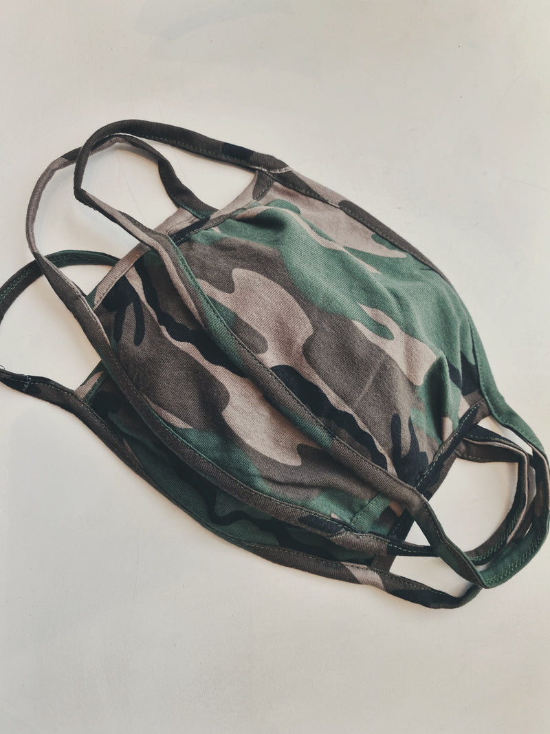 Camo II Face Mask
