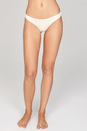Carine Cheeky Swim Bottom - Pebble