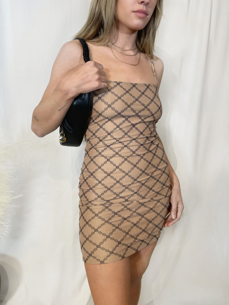 Chainlink Mini Dress