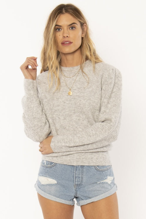 The Florence Sweater - Grey
