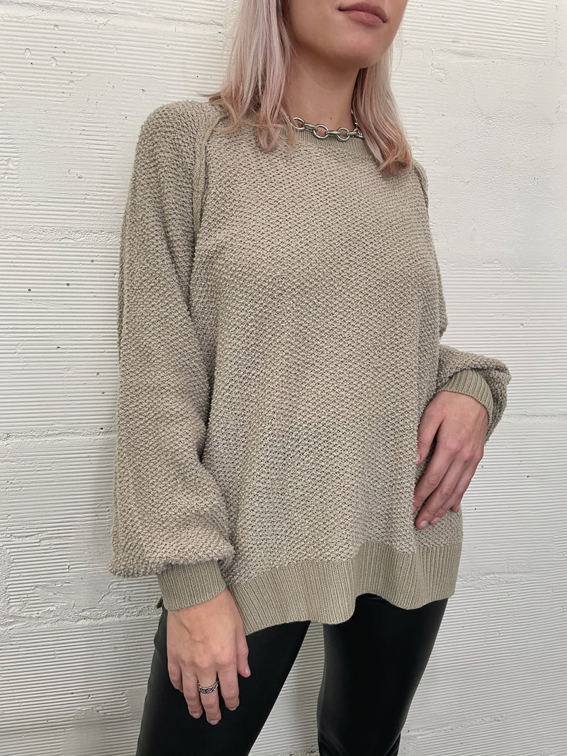 Driftwood Sweater - Taupe