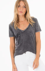 The Washed Cotton Pocket Tee