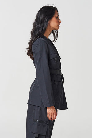The Ascot Blazer - Black