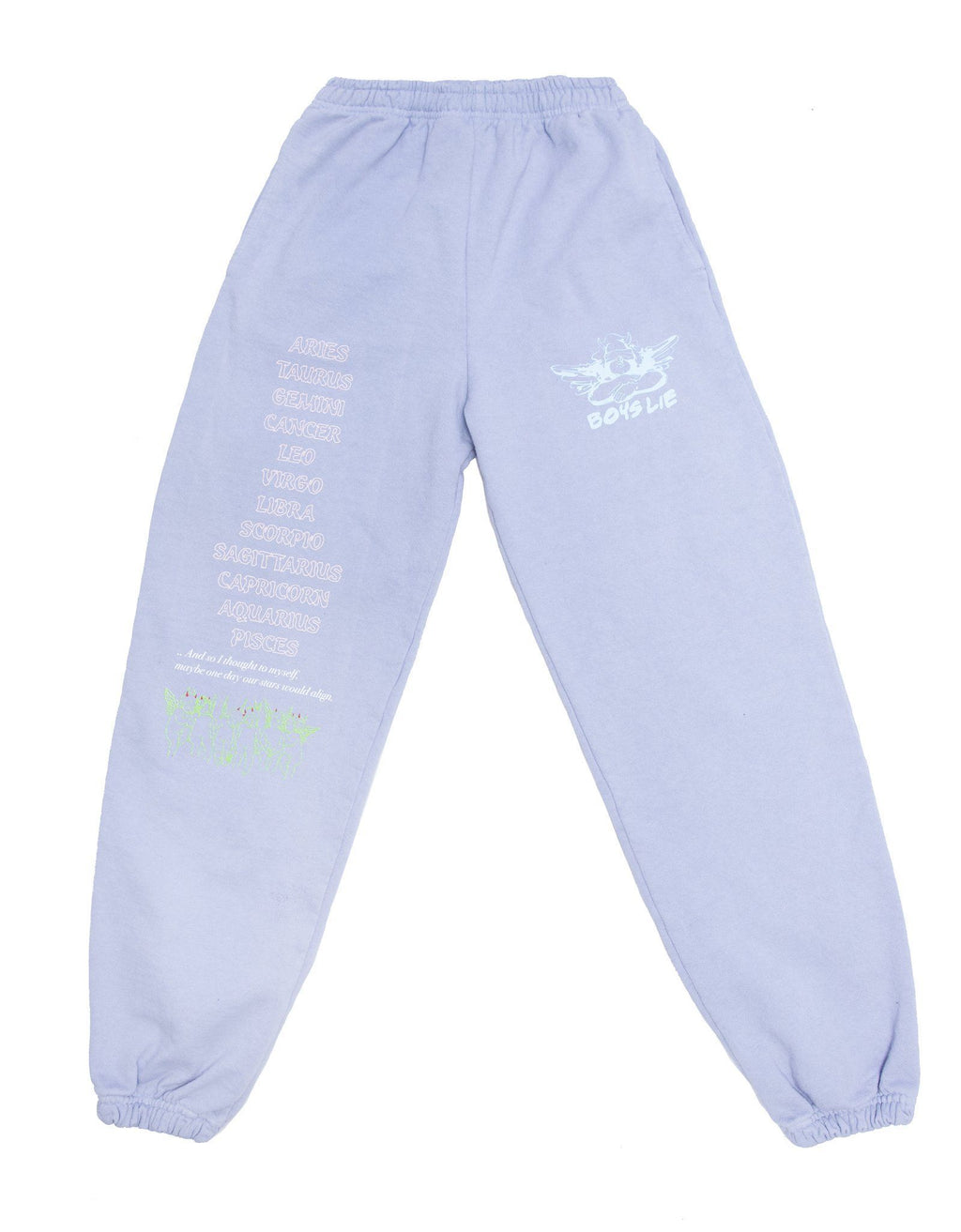 Boys Lie Word Vomit Sweatpants