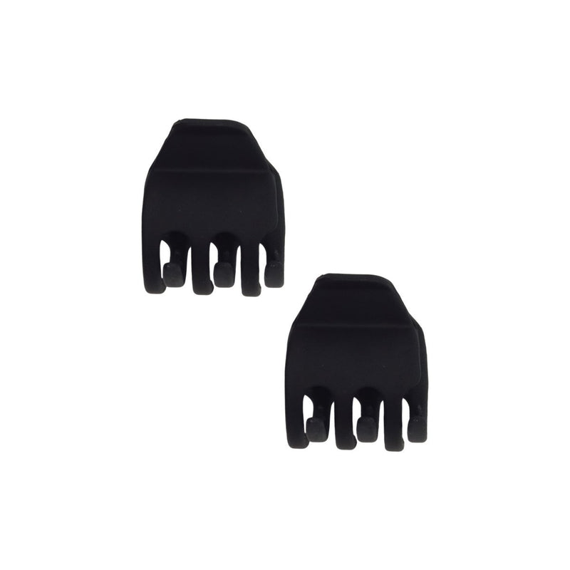 Eco Friendly Claw Clips Medium 2 pc - Black