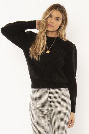 The Florence Sweater - Black