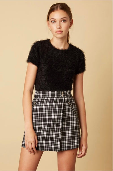 Lennon Plaid Skirt