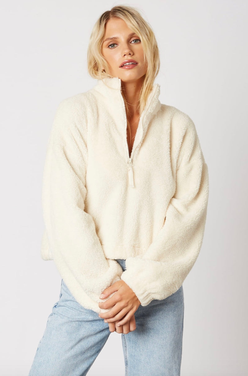 Denver Pullover - Ivory - Last One In Stock!