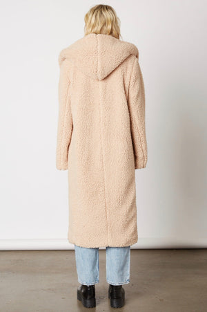 Downtown Teddy Coat - Almond