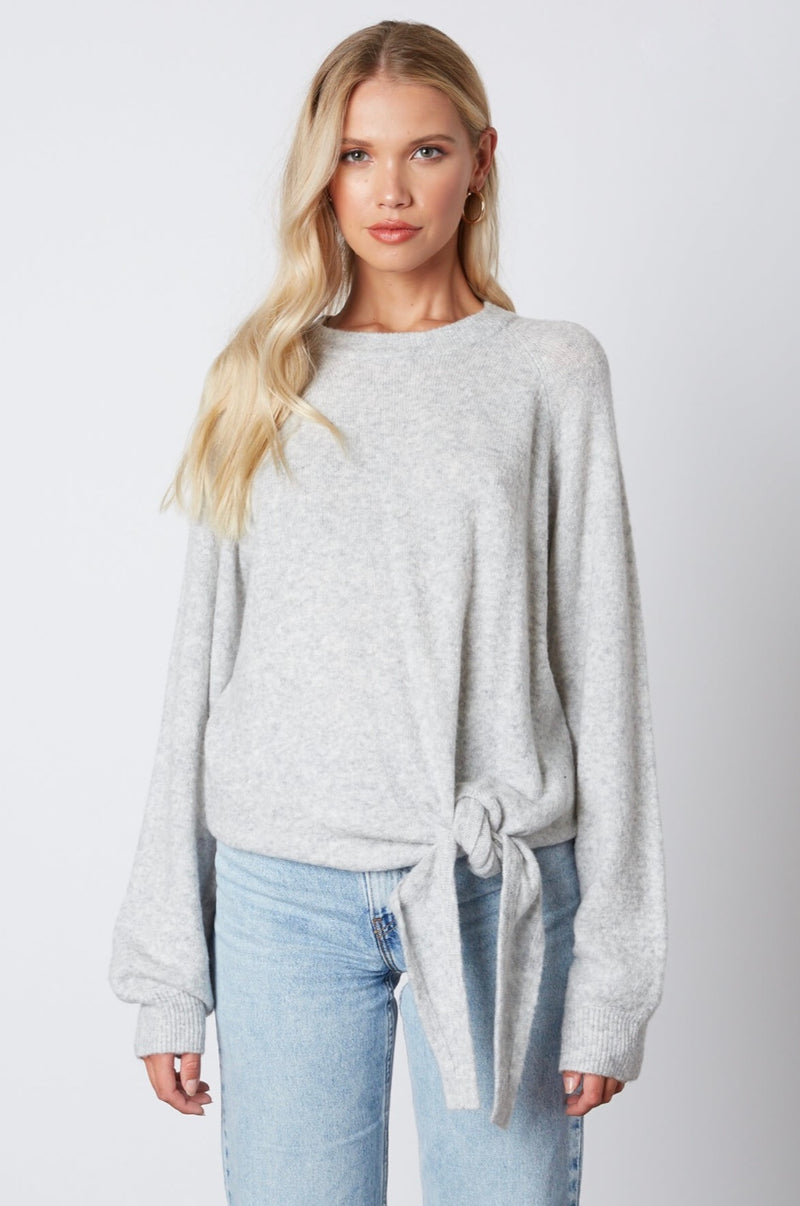 Knot Front Sweater