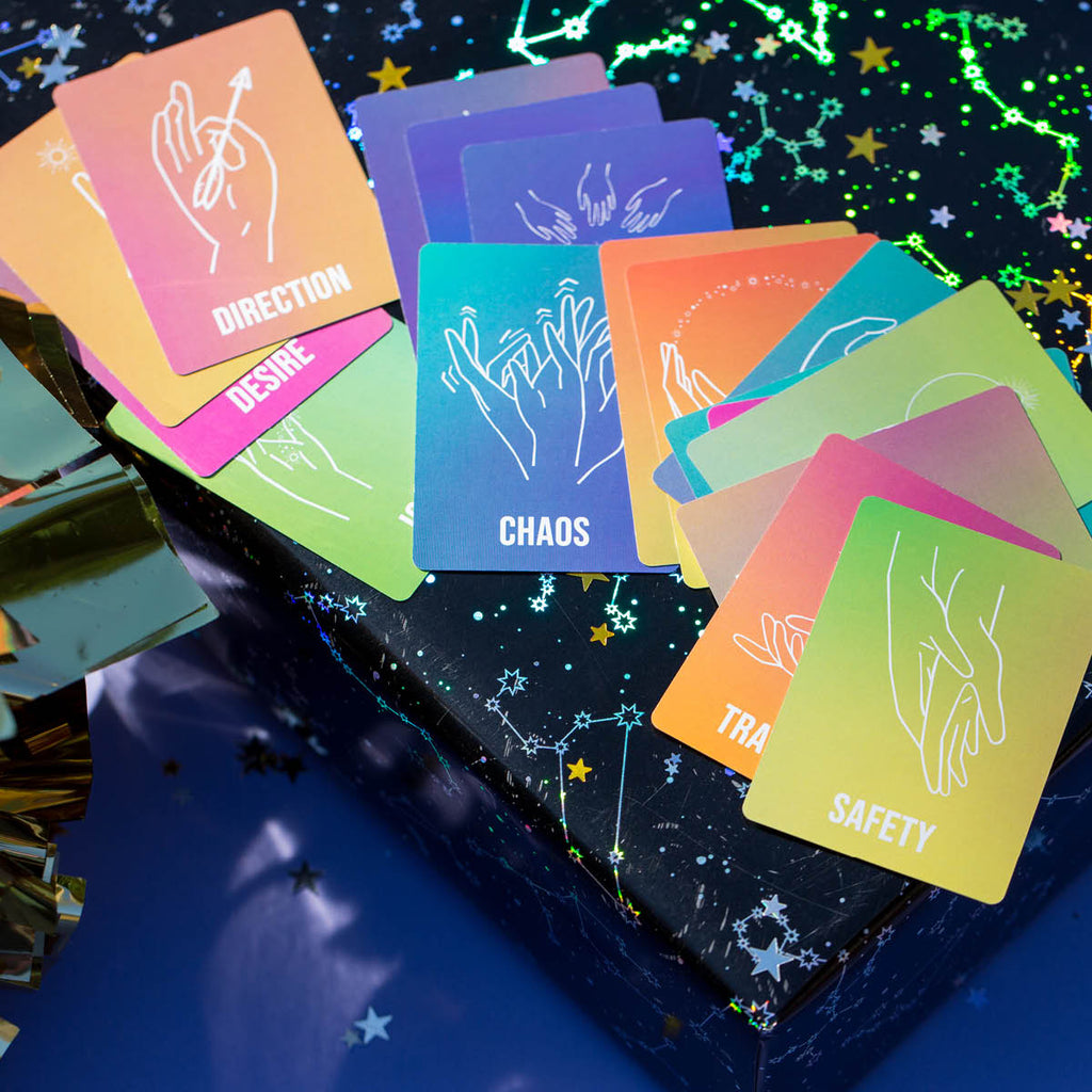 Greater Hand Oracle Cards