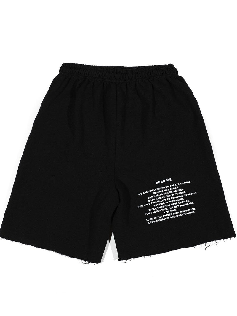 Boys Lie Read Me V2 Sweat Shorts