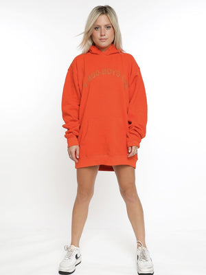 Boys Lie 1-800 Remix Hoodie - Orange