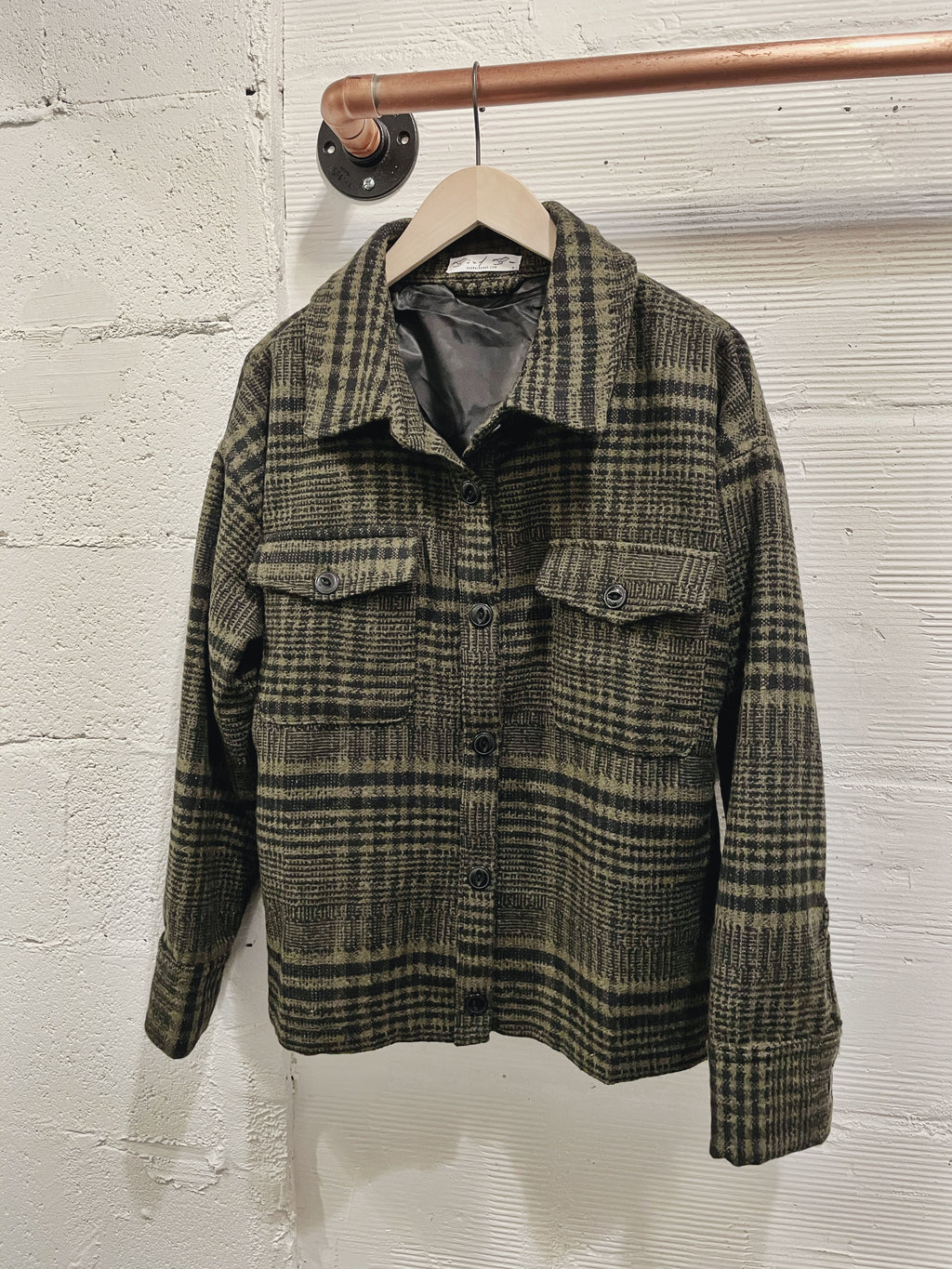 Kalmia Plaid Shacket