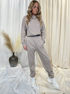 Kendal Pullover - Taupe