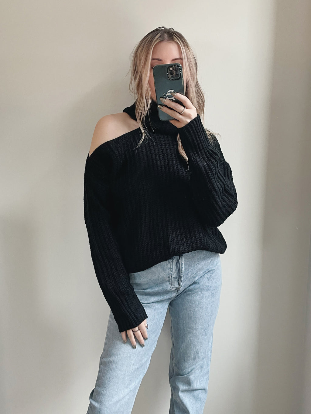 Luna Cut Out Sweater