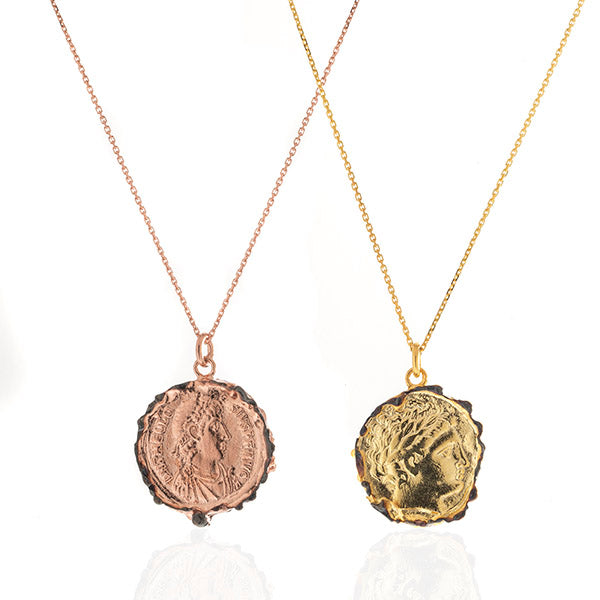 Kate Medallion Necklace