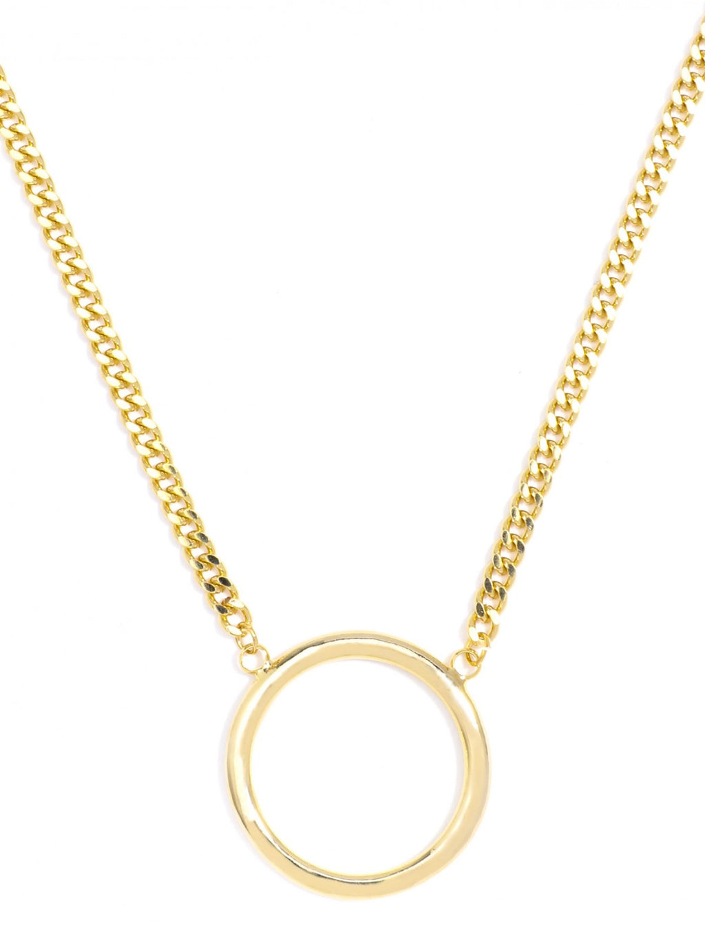Key Ring Necklace - Gold
