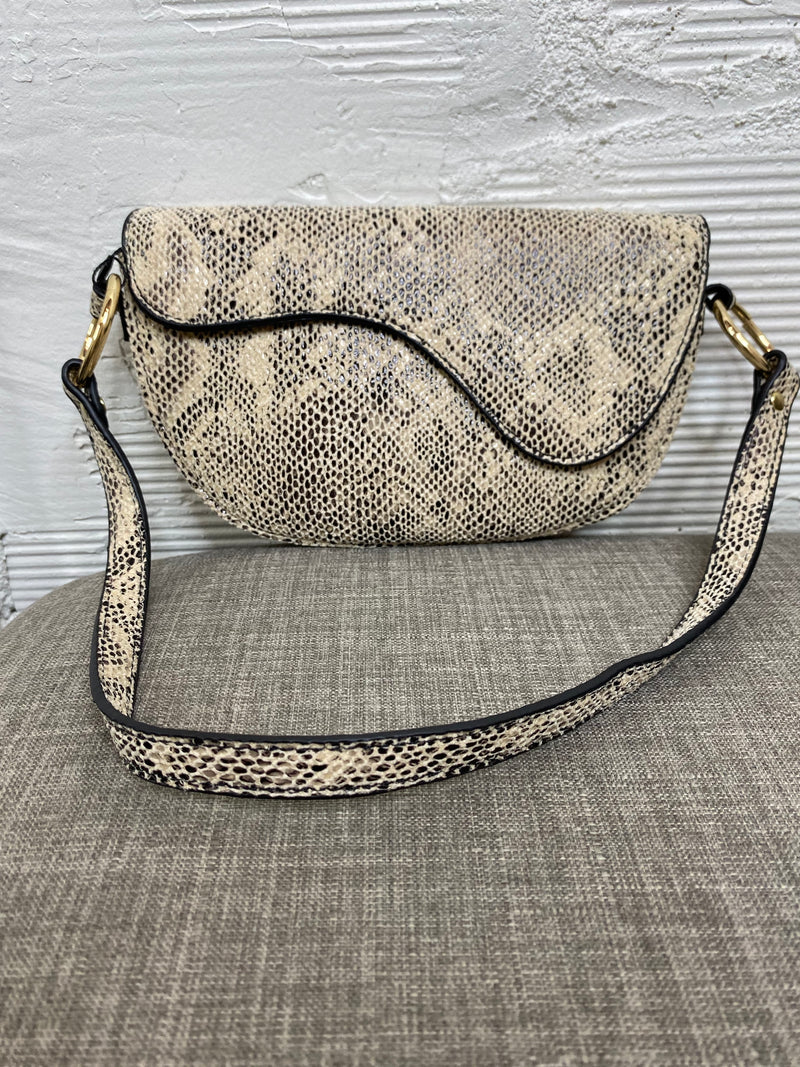 Jazz Shoulder Bag - Snake