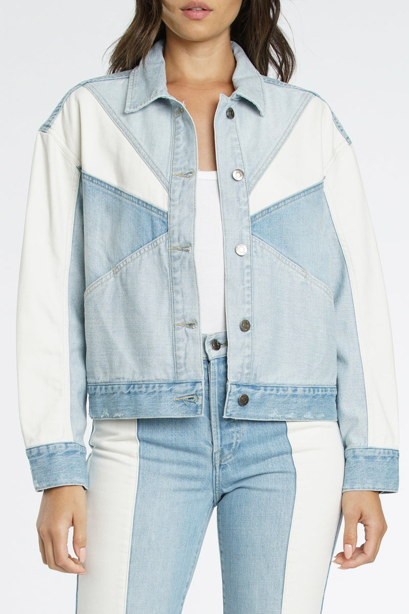 Willow Colorblock Boxy Jacket