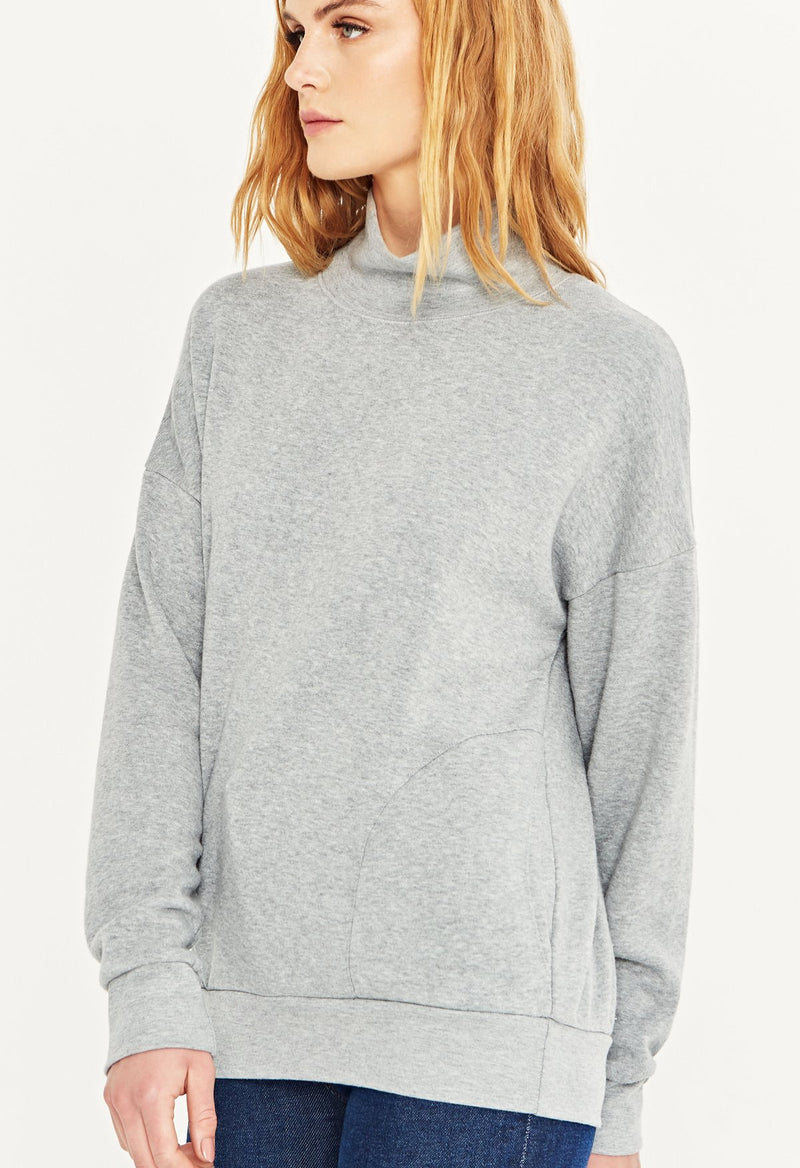 Casey High Neck Sweatshirt