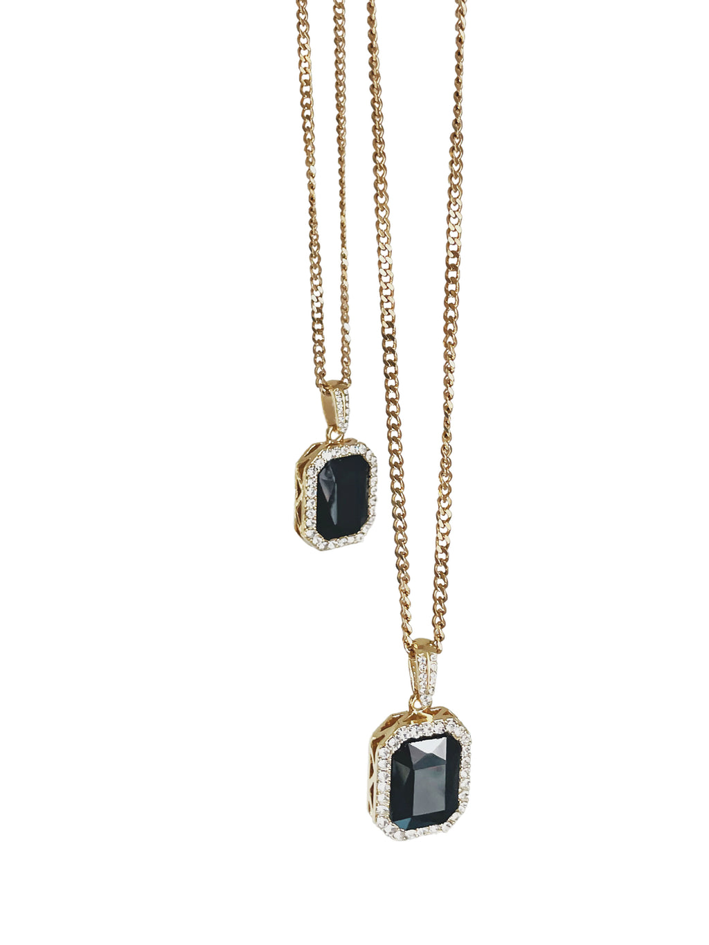 Rogue Gemstone Necklace - Gold