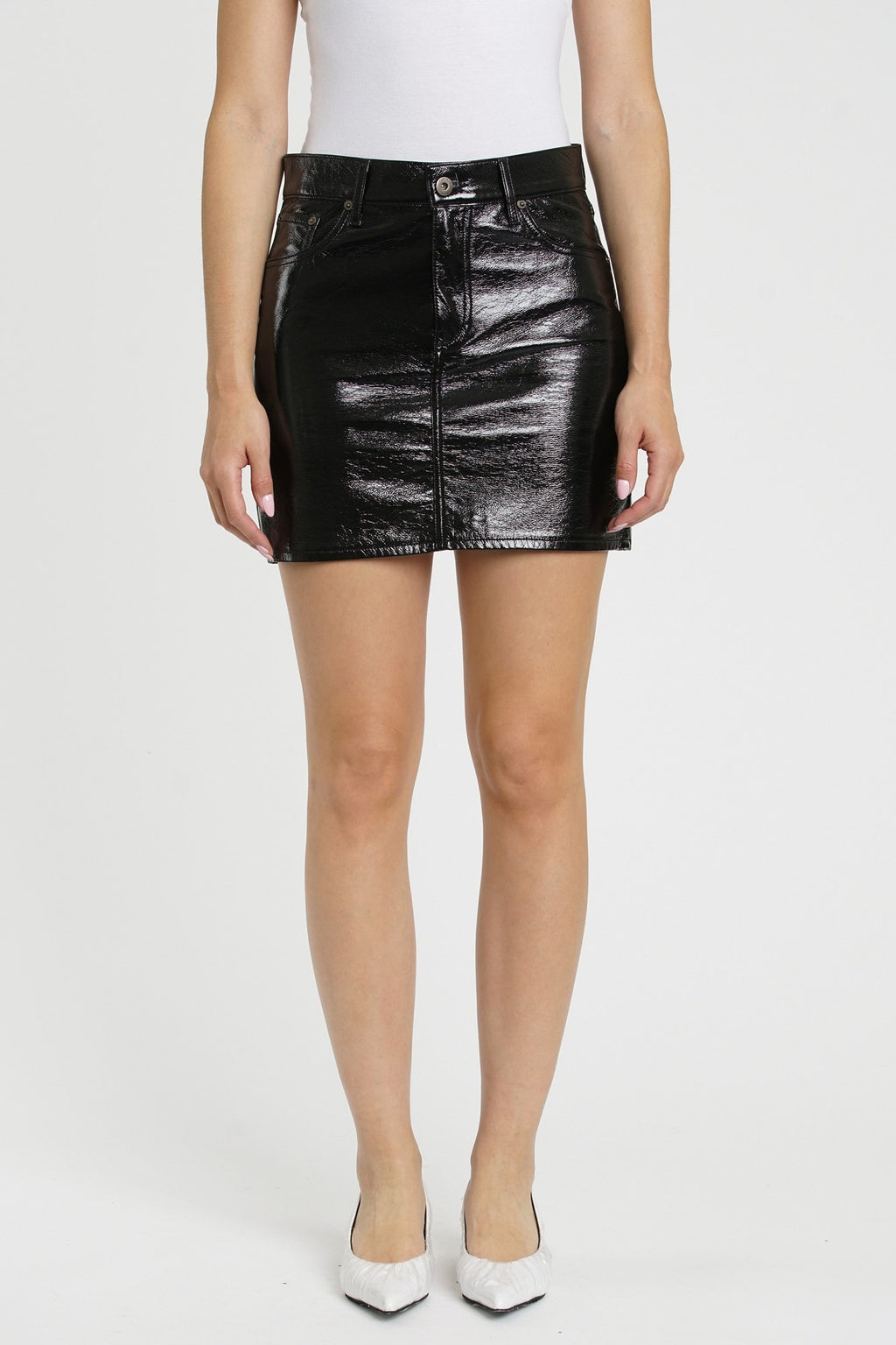 Sierra High Rise Skirt-Midnight Train