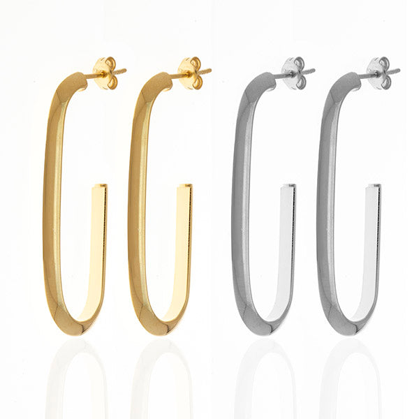 G Hoop Earrings