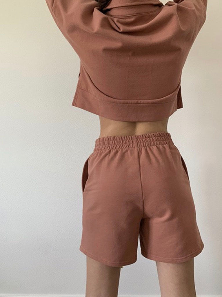 Terracotta Lounge Short