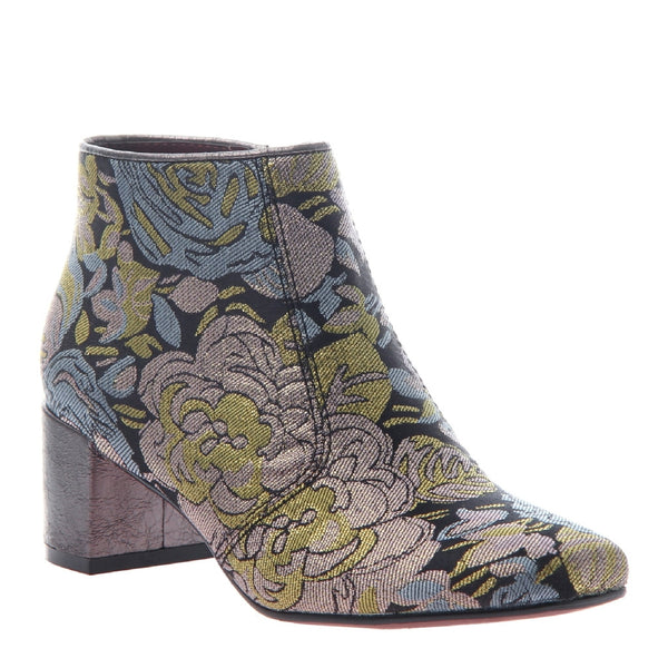 Tongue in Cheek Floral Bootie